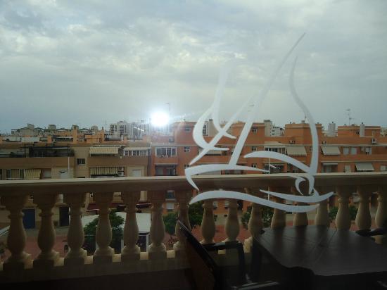 Sensity Hotel Vent de Mar: vista desde la habitacio, en el frontal del hotel