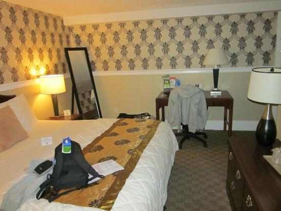 Rodeway Inn Logan International Airport: Chambre