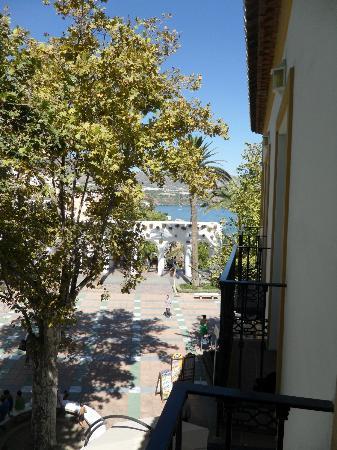 Hostal Marissal: View from balcony (room 207)