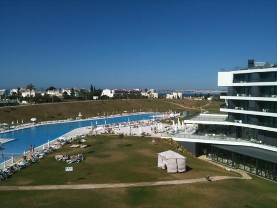 Alvor Baia Resort Hotel: view from our fabulous balcony