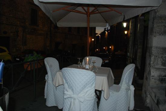 Ristorante dei Consoli : Outdoor dining