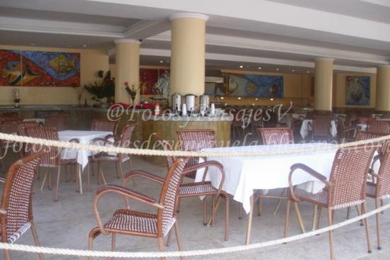 Isla Caribe Beach Hotel: Comedor Área Real