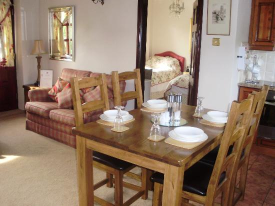 Low Urpeth Farm B&B: will miss the cosy kitchen cottage