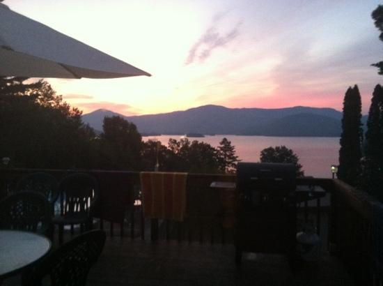 Contessa Lake George Motel & Resort: from our deck