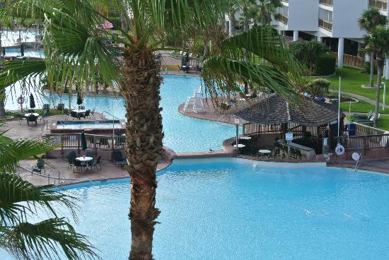 Port Royal Ocean Resort & Conference Center: View from balcony