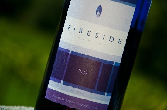 Marengo, IA: BLU - semi-sweet white wine blend