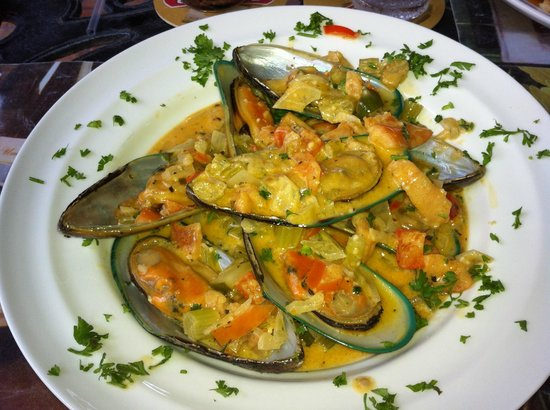 Havana Kafe: Mussels either as a starter or main course