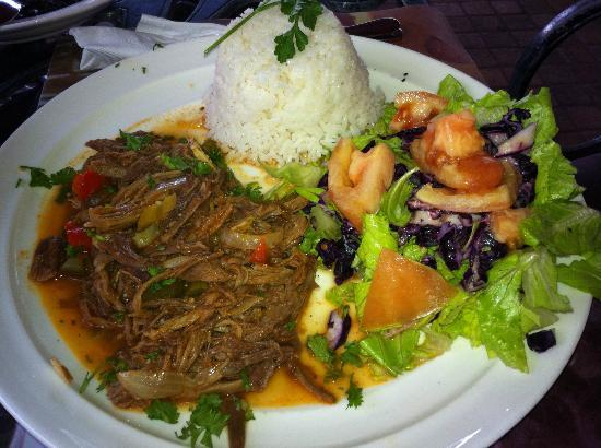 Havana Kafe: Think this is stripped Pork special (not sure because in spanish) but delicious