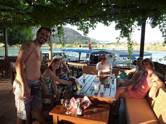 Likya Pension: Raki and ice cold beer on a sunny evening