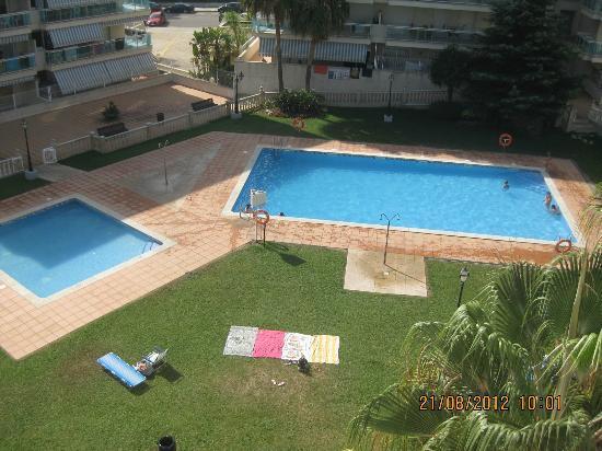 Village Park: The pools