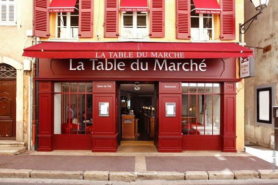 La table du marche saint tropez restaurant reviews - Restaurant la table du grand marche tours ...