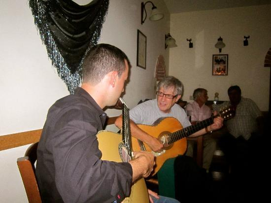 Sr. Fado de Alfama: Duarte and his godson