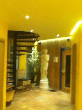 Apartment-Hotel Ruether: Pool and sauna area