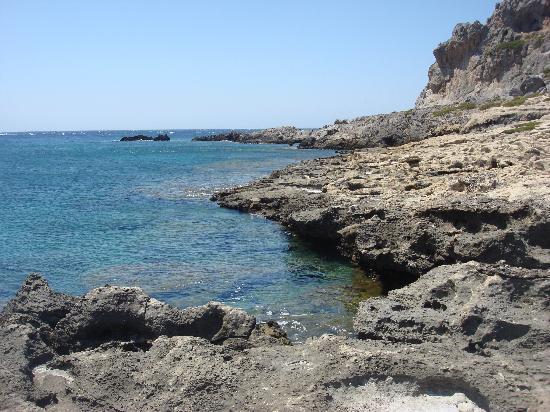 Anastasia & Stathis Bed and Breakfast: Scorcio spiaggia Falassarna