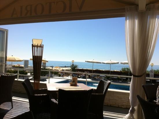 Hotel Victoria Frontemre: terrasse véranda