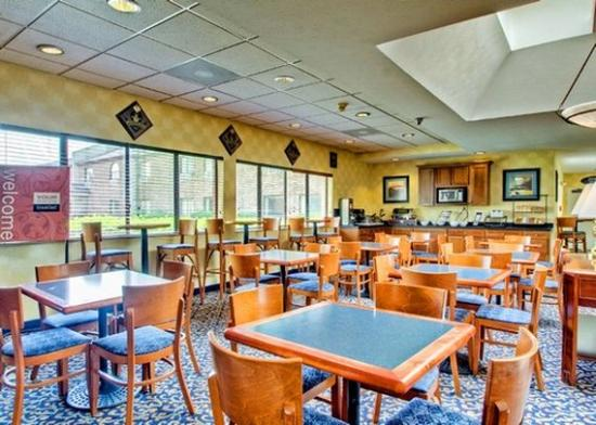 Quality Inn: Breakfast Area