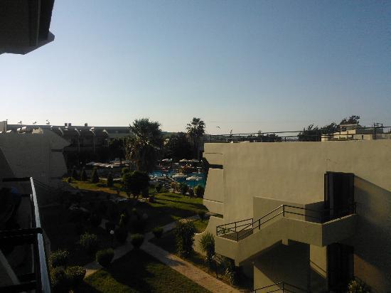 Virginia Hotel: hôtel vu du toit