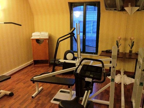 "Holiday Inn Brussels Schuman: The ""gym"", not exactly large, or modern"