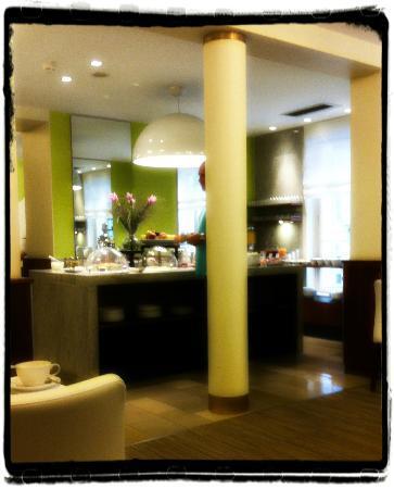Hotel Das Tigra: Buffet du petit déjeuner