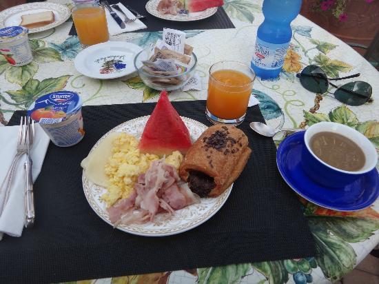 Hotel Dei Consoli : The breakfast