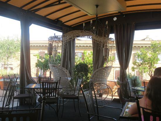 Hotel Dei Consoli: terrace