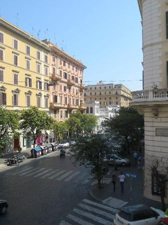 Hotel Dei Consoli: view from our room