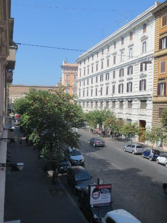 Hotel Dei Consoli: view from terrace