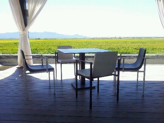 Foto de rocher cullera comedor terraza frente al arrozal - Comedor terraza ...