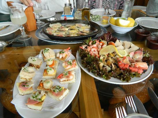 El Chiringuito de Zapallar : delicias de mar