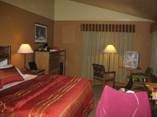 Headwaters Lodge & Cabins at Flagg Ranch: Room of deluxe cabin