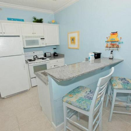Twin Palms: Kitchen