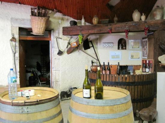 Paris Wine Day Tours: tasting room