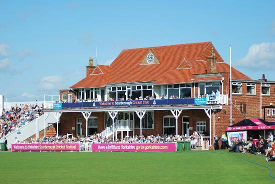 Scarborough Cricket Club: the pavilion
