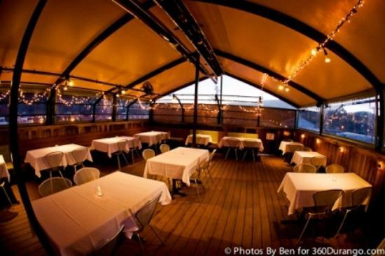Eolus Bar & Dining: Roof top dining