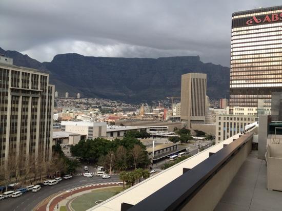 Park Inn by Radisson Cape Town Foreshore: uitzicht vanaf 11de verdieping.