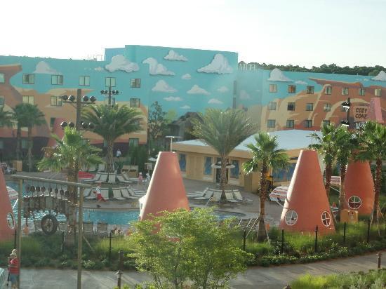 Disney's Art of Animation Resort: Buildings