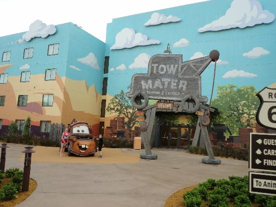 Disney's Art of Animation Resort: Tow Mater