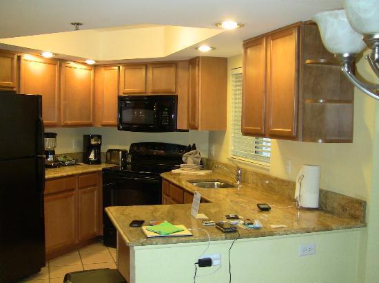 Wyndham Royal Vista: kitchen in rm 7712