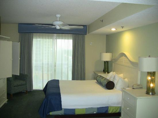 Wyndham Royal Vista: rm 7712 bedroom