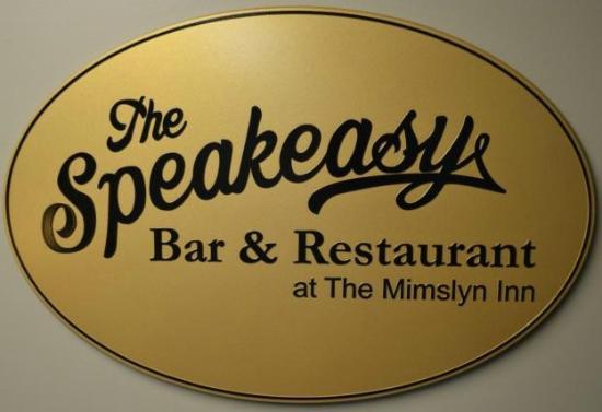 Speakeasy Bar: Entrance from inside the Mimslyn Inn