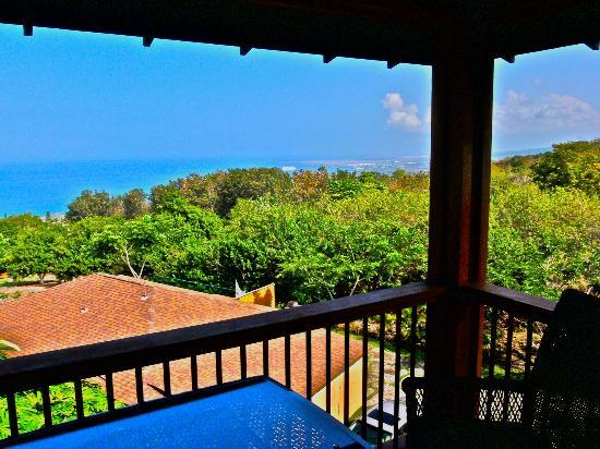 Haleakala Bed and Breakfast: Balcony Ocean View