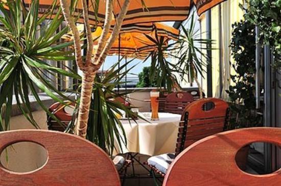 Akzent Stadthotel Heilbronn: Terrace View