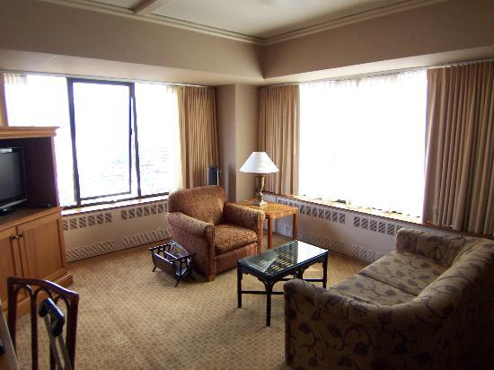 separate living room of suite picture of the hotel captain cook anchorage tripadvisor