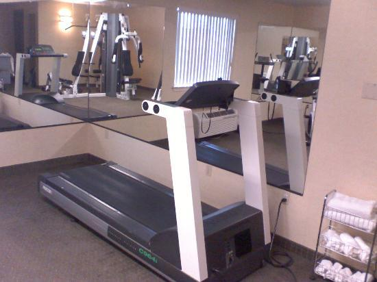 Quality Inn: A Treadmill