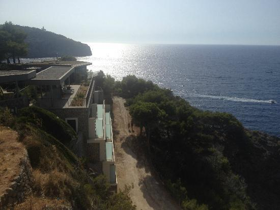 Jumeirah Port Soller Hotel & Spa: View at the suites building of the hotel
