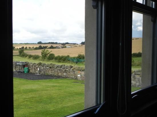 Parkley Farm Holiday Cottages: view from the livingroom