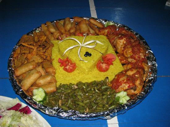 Damai Bungalows: top food