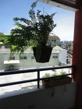 Hotel Red Cay: vista de la habitacion 2do piso