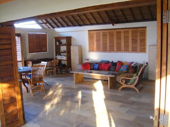 Villa Bagus: livingroom.
