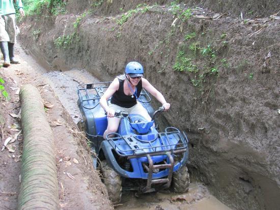 Paddy Adventure Bali: Imagine this in rainy season!